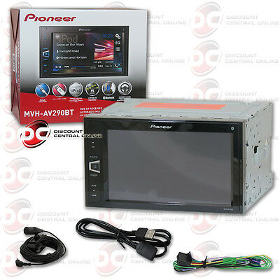 PIONEER MVH-AV290BT CAR 2-DIN 6.2