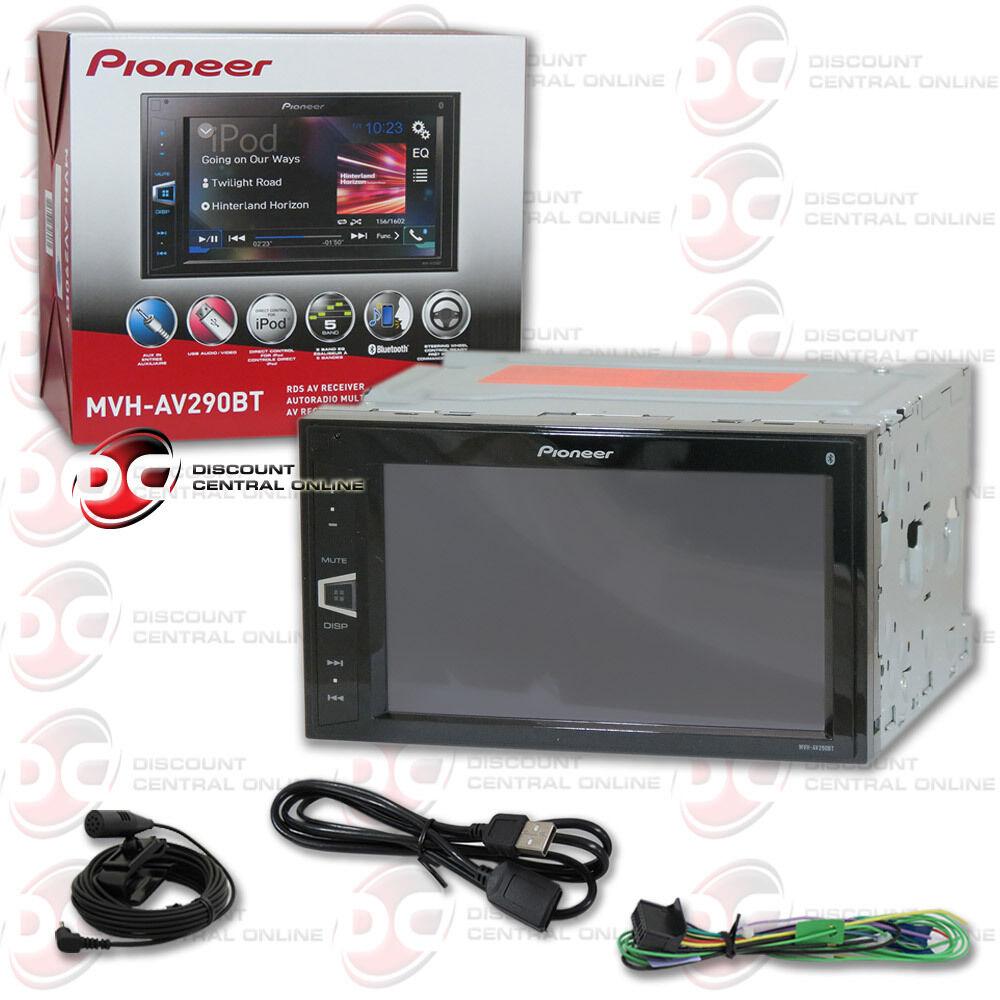 $154.95 - PIONEER MVH-AV290BT CAR 2-DIN 6.2