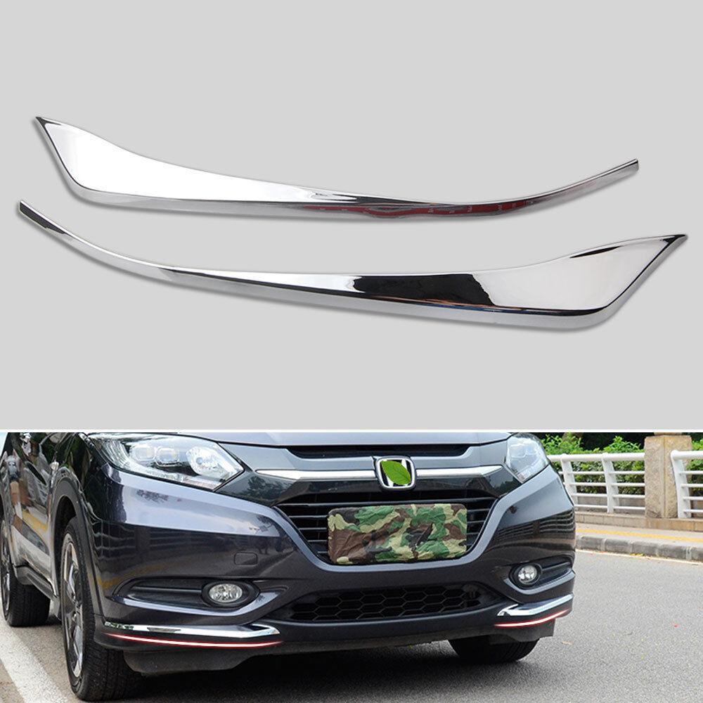 ABS Front Headlight Cover Lamp Head Light Trim For Honda HR-V HRV 2014-2017