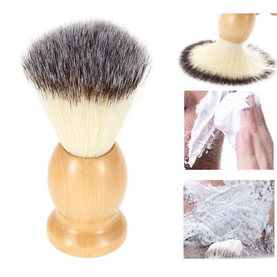 BEST Badgers Hair Wood Removal Beard Shaving Brush For Mens Shave Cosmetic (Best Hair For Makeup Brushes)