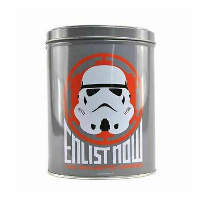 NEW OFFICIAL STAR WARS STORMTROOPER ENLIST NOW STORAGE TIN CONTAINER
