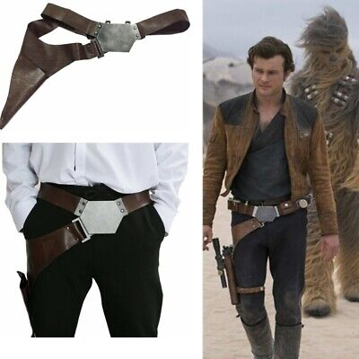 Han Solo Belt Holster Star Wars The Force Awakens Cosplay Props Costume Adult