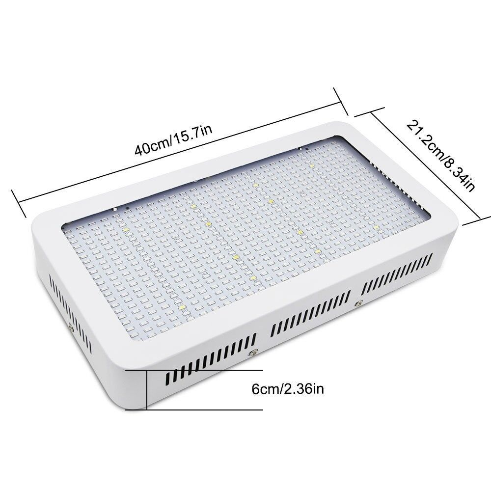 Derlight - LED Grow Light - 600w (Red&Blue with UV) Hydroponic