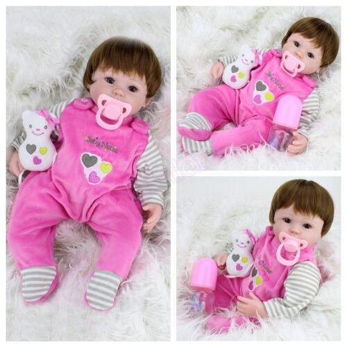 Изображение товара Realistic Handmade Girl Doll Lifelike Newborn Vinyl Silicone Reborn Baby Dolls