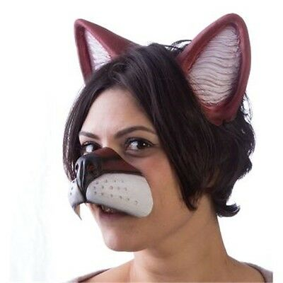 Anime Latex Fox Nose & Ears Set - Anime Latex