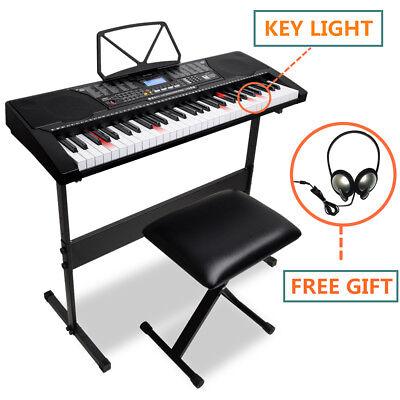 Digital Music Piano Keyboard Portable Electronic Musical Instrument - 61 Keys