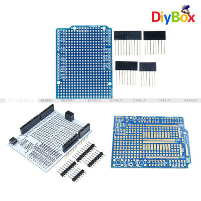 Prototype Pcb Expansion Board Uno R3 Shield Diy 2mm 2.54mm Pitch For Arduino