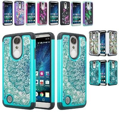 LG Aristo 2/2 Plus/3/K8 Plus 2018/K8 2017/Zone 4 Diamond Bling Phone Case Cover ()