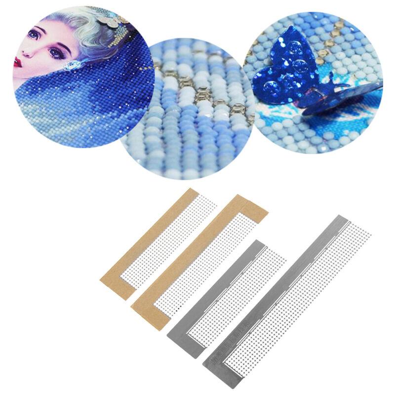 Dotting Anti Stick Net Ruler Diamond Painted Drilling Tools For Round Diamond