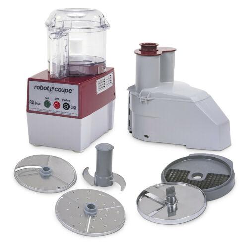 Robot Coupe R2 DICE CLR Combination Electric Food Processor