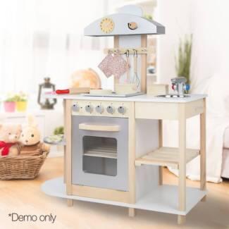 Wooden Kitchen Playset