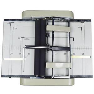 110V Automatic Book Binder Staple Folder Booklet Maker 120330
