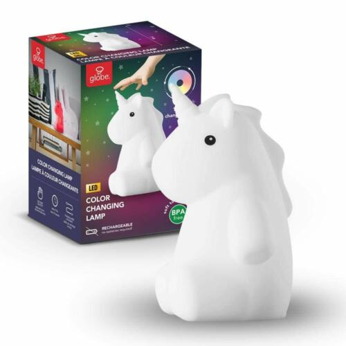 Adorable Color Changing LED Rechargeable Silicone Night Light Kids