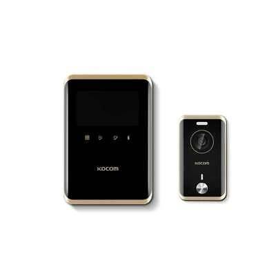 "KOCOM KCV-R431E Black 4.3"" TFT LCD Color Video Phone KC-R81E Door Camera Touch"