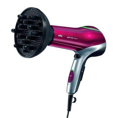 Personal Care Haartrockner (Braun Personal Care HD 770 Color Saver Haartrockner Diffusor Aufsatz schwarz-rot)