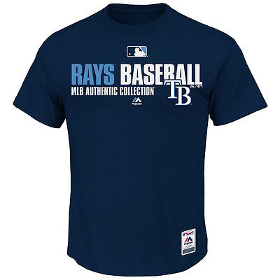 MLB Baseball Team Favorite T-Shirt TAMPA BAY RAYS - Authentic Collection (Tampa Bay Rays Baseball)