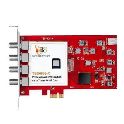 TBS6909-X DVB-S2/S2X Octa Tuner PCIe Card na sprzedaż  Wysyłka do Poland