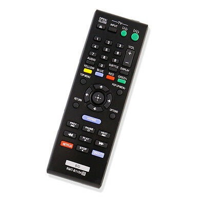 New RMT-B115A Blu-Ray DVD Disc Player BD Remote for Sony BDP-S280 BDP-S580