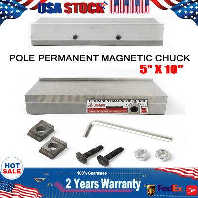 Surface Grinder Permanent Magnetic Chuck Precise Details Of Tilting Disk 5x10