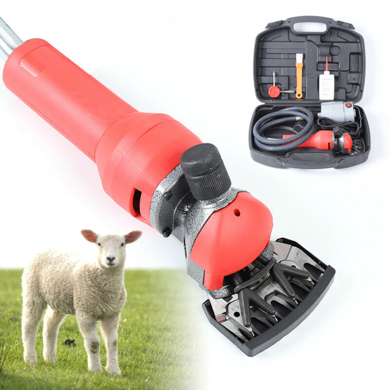 750W Electric Flexible Shearing Trimmer Clippers Shears Sheep Goat Farm Cutter