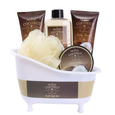 Draizee Spa Gift Basket with Refreshing Coconut Fragrance Best Gift for