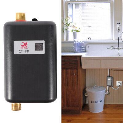Mini Calentador de agua instantáneo eléctrico sin tanque juego de cocina 3400W