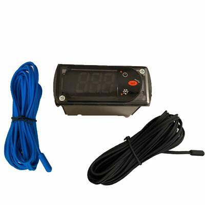 New Carel Temperature Thermostat Pjezs0h100 With Temperature Sensor Probes 115v
