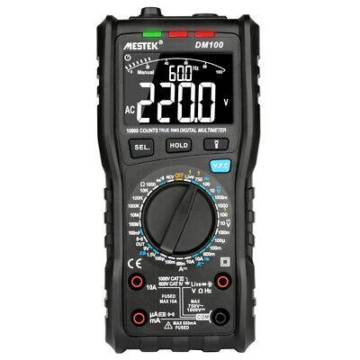 MESTEK 10000 Counts True RMS Multifunctional Digital Multimeter Measuring E5F4 comprar usado  Enviando para Brazil