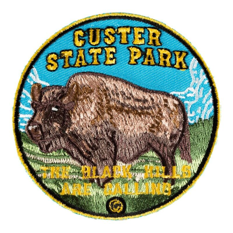 Custer State Park Wild Bison Patch, South Dakota Patches
