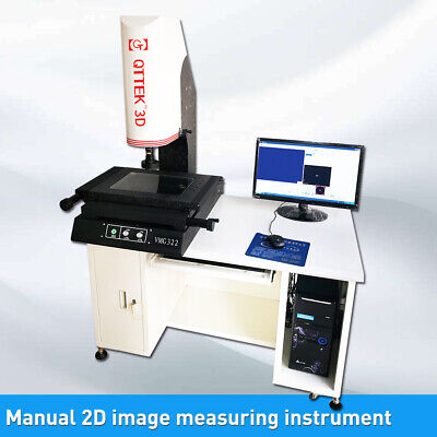 2d Manual Video Measuring Inspection Machine Image Masuring Instrument 12x8 Inch