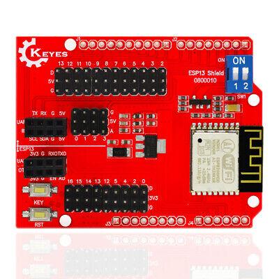 Esp8266 Web Sever Serial Wifi Shield Board Module Esp-13 For Arduino Uno R3 Sz