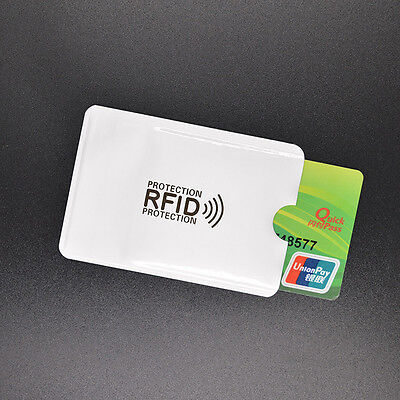 2x Card Minder RFID Blocking Contactless Debit Credit Protector Sleeve Wallets