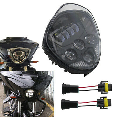 LED Motorcycle Headlight for Victory Cross Country Vegas 8-Ball Cross Roads
