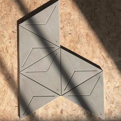 Concrete Tile Mold Silicone rubber wall brick mould 17.5*2cm