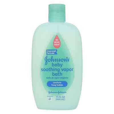 JOHNSON'S Soothing Vapor Bath 15 oz