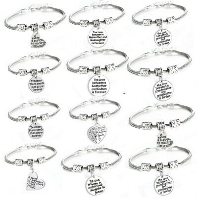 Love Beads Chain Bracelet Family Best Friend Friendship Bracelets Jewelry