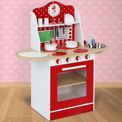 Kinderküche Spielküche Kinderspielküche Spielzeugküche Holzküche Puppenküche Neu