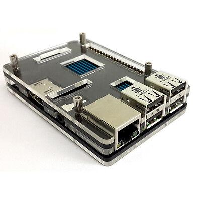 PREMIUM Case Box Shell Enclosure for Raspberry pi 3 / 2B / B+ Transparent