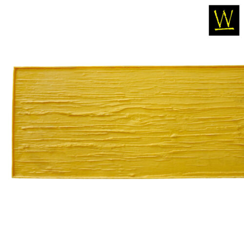 Centennial Plank Wood | Single Concrete Stamp by Walttools (Yellow, 8 ft.)