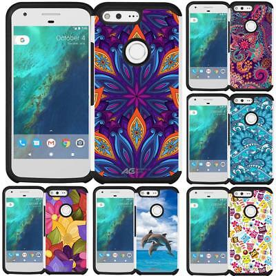 - Slim Hybrid Armor Case Dual Layer Phone Cover for Google Pixel (2016) 5