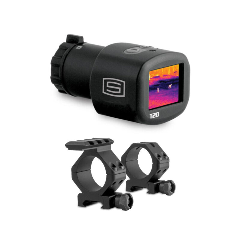 Sector Optics T20 3-5.5x Thermal Imaging Scope with mounting Rings