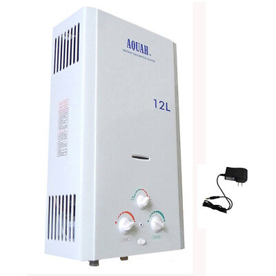 NATURAL GAS NG TANKLESS WATER HEATER,12 L, 3.2 GPM