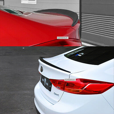 Trunk Spoiler for Hyundai Elantra 2017-2018 Sedan 4Dr Diffuser LED Brake Light