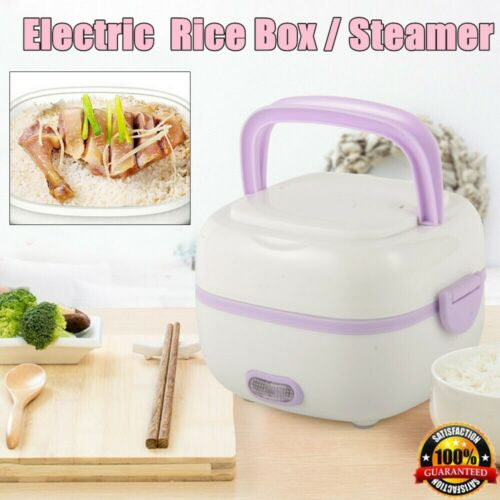 110V Electric Portable Mini Steamer Rice Cooker Stainless St