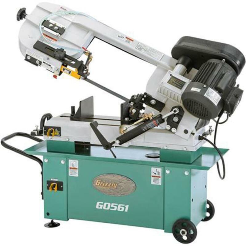 Grizzly G0561 110V/220V 7 Inch x 12 Inch 1 HP Metal-Cutting Bandsaw