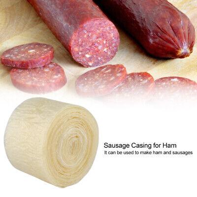 8m Natural Sausage Casings Skins Collagen Casings For Smoked Or Fresh Sausage