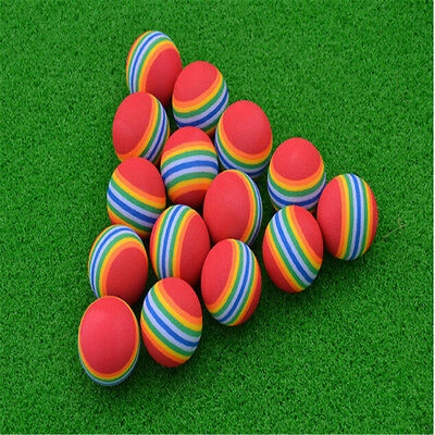 20Pcs Light Foam Golf Balls Sponge Elastic Indoor Outdoor Practice Training New](Light Golf Balls)