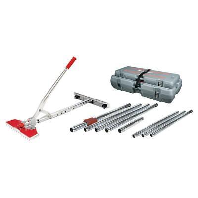 Carpet Stretcher Tool Value Kit Case 38 Ft Stretching Length Flooring Equipment