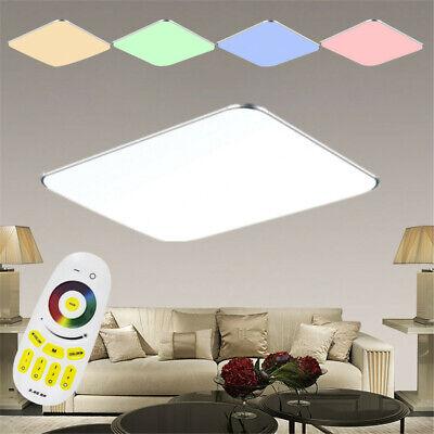 LED Deckenleuchte RGB Dimmbar Farbwechsel Deckenlampe Ultraslim Wand Panel Lampe Ultra Slim Panel