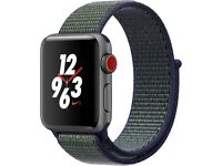 NEW Apple Watch Nike+ Series 3 (GPS + Cellular) 38mm Running Watch